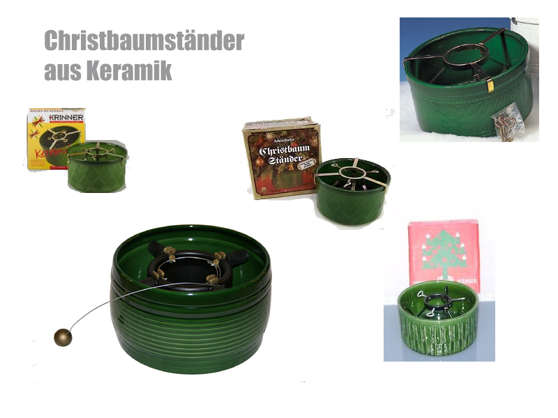 Weihnachtsbaumstander Christbaumstander Aus Keramik