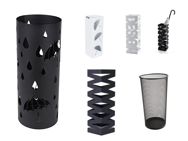 schirmst nder aus metall. Black Bedroom Furniture Sets. Home Design Ideas